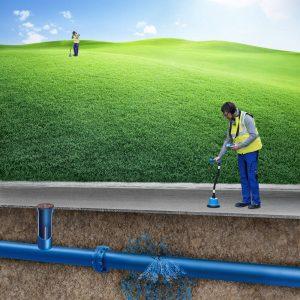 локализиране на водопроводен теч